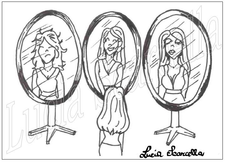 Benessere psico fisico retedeigenitori - Bambini che si guardano allo specchio ...