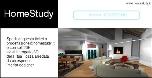 Scarica ed invia questo coupon a progettazione@homestudy.it per la tua stanza in 3D